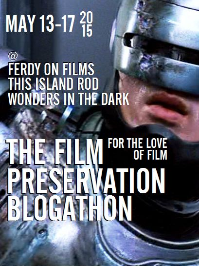 The Film Preservation Blogathon IV
