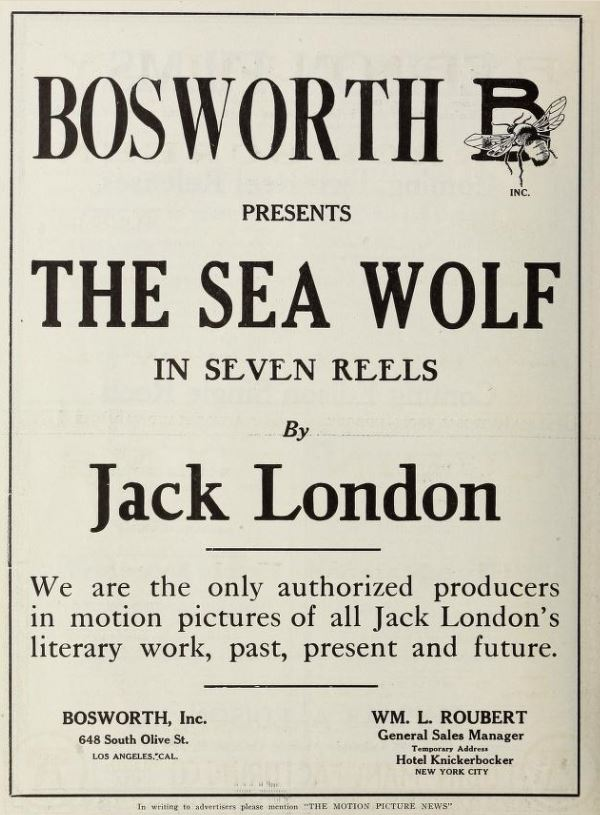 The sea wolf by jack london essay