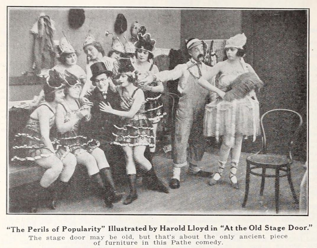 Big V Riot Squad: Harold Lloyd -- The Perils of Popularity -- July