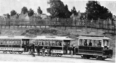 The Cable Car Home Page Geary Street Park And Ocean Railway