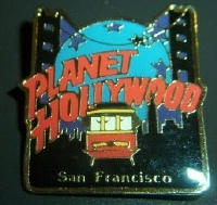 Planet Hollywood Cable Car