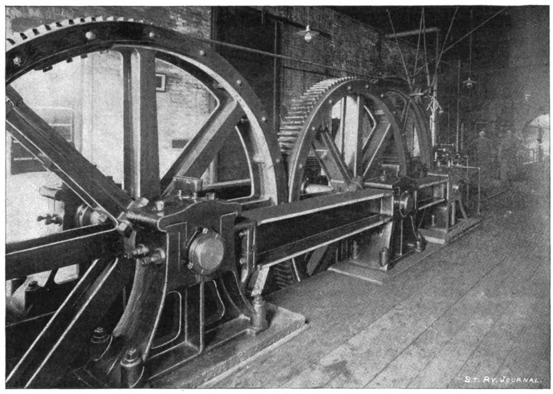 Fig 18 - Interior of cable power house