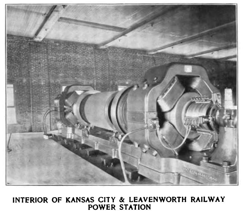 interior of kansas city and leavenworth power station