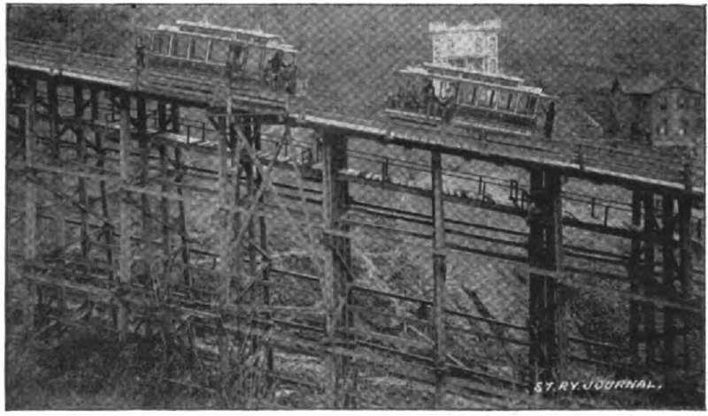 Fig 9 - Wooden Trestle