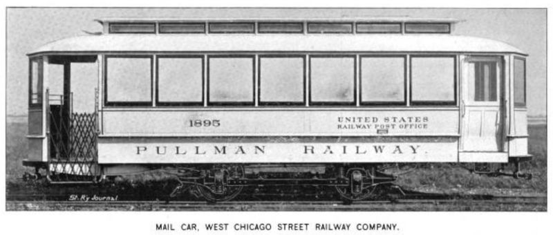 West Chicago Mail Car