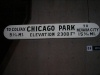 Chicago Park sign