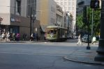 Streetcar 972 at Carondelet and Canal