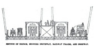 Brooklyn Bridge cross section/2