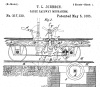 Johnson patent/cog wheel
