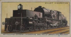 Articulated Express Locomotive, San Paulo (Brzilian) Railway