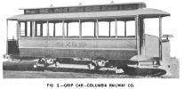 Fig. 2 -- Grip Car -- Columbia Railway Co.